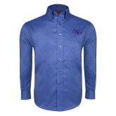 Red House French Blue Long Sleeve Shirt-SSU