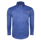 Red House French Blue Long Sleeve Shirt-Horizontal Mark