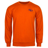 Orange Fleece Crew-SSU