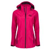 Ladies Dark Fuchsia Waterproof Jacket-SSU