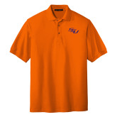 Orange Easycare Pique Polo-SSU