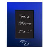 Royal Brushed Aluminum 3 x 5 Photo Frame-SSU Engraved