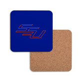 Hardboard Coaster w/Cork Backing-SSU