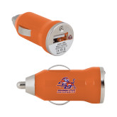 On the Go Orange Car Charger-Official Logo