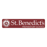 Large Decal-St Benedicts Wordmark