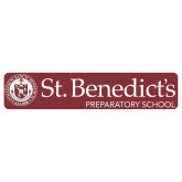 Extra Large Decal-St Benedicts Wordmark