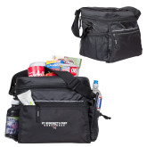 All Sport Black Cooler-Gray Bee Logo Bee in Middle