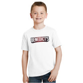 Youth White T Shirt-Benedicts