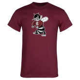 Maroon T Shirt-Fighting Bee