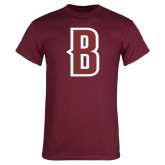 Maroon T Shirt-B Mark