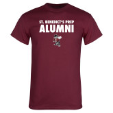 Maroon T Shirt-Alumni with Fighting Bee