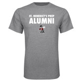 Grey T Shirt-Alumni with Fighting Bee