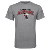 Grey T Shirt-Alumni Gray Bees with Seal