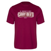 Performance Maroon Tee-Golf