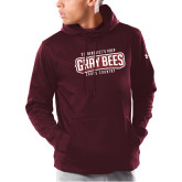 Under Armour Maroon Armour Fleece Hoodie-Cross Country