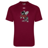 Under Armour Maroon Tech Tee-Fighting Bee