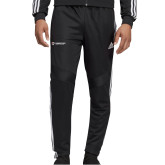 Adidas Black Tiro 19 Training Pant-Gray Bee Logo