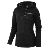 Columbia Ladies Darling Days Black Pullover-St Benedicts Secondary Wordmark