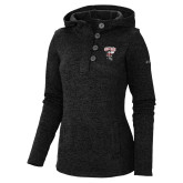 Columbia Ladies Darling Days Black Pullover-St Benedicts Prep Gray Bees