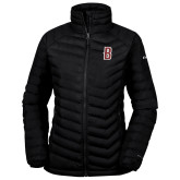 Columbia Powder Lite Ladies Black Jacket-B Mark