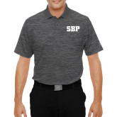 Under Armour Graphite Performance Polo-Athletic Wordmark