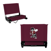 Stadium Chair Maroon-Fighting Bee