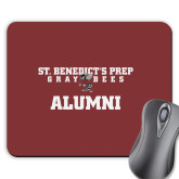 Full Color Mousepad-Alumni Gray Bee Logo Bee in Middle
