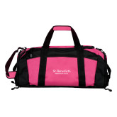 Tropical Pink Gym Bag-St Benedicts Secondary Wordmark
