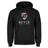 Black Fleece Hoodie-Boyce Primary Mark Vertical