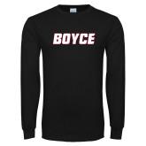 Black Long Sleeve T Shirt-Boyce