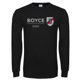 Black Long Sleeve T Shirt-Boyce Dad