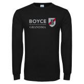 Black Long Sleeve T Shirt-Boyce Grandma
