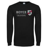 Black Long Sleeve T Shirt-Boyce Grandpa