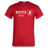 Red T Shirt-Boyce Mom