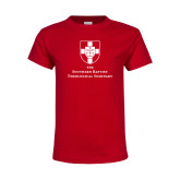 Youth Red T Shirt-Primary Mark Vertical