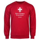 Red Fleece Crew-Southern Seminary Dad