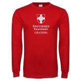 Red Long Sleeve T Shirt-Southern Seminary Grandpa