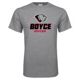 Grey T Shirt-Soccer