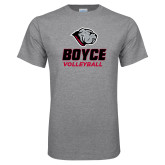 Grey T Shirt-Volleyball