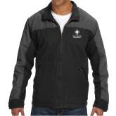 DRI DUCK Horizon Charcoal/Black Canvas Jacket-Southern Seminary Vertical
