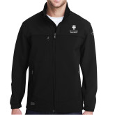 DRI DUCK Motion Black Softshell Jacket-Southern Seminary Vertical