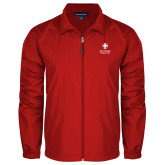 Full Zip Red Wind Jacket-Southern Seminary Vertical