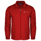 Full Zip Red Wind Jacket-Southern Seminary Flat