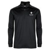 Nike Golf Dri Fit 1/2 Zip Black/Grey Pullover-Southern Seminary Vertical