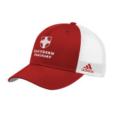 Adidas Red Structured Adjustable Hat-Southern Seminary Vertical