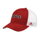 Adidas Red Structured Adjustable Hat-Boyce