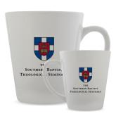 Full Color Latte Mug 12oz-Primary Mark Vertical