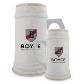 Full Color Decorative Ceramic Mug 22oz-Boyce Primary Mark Vertical