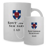 Dad Full Color White Mug 15oz-Southern Seminary Dad