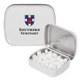 White Rectangular Peppermint Tin-Southern Seminary Vertical
